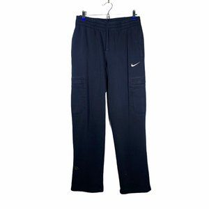 Nike Black Open Bottom Casual Sweatpants M